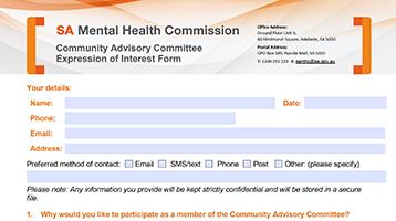 Community Advisory Committee 2019