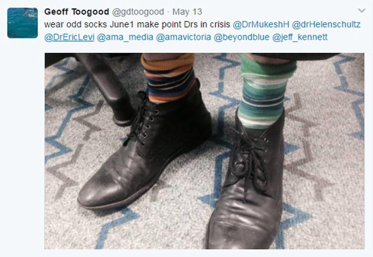 Dr Geoffrey Toogood Tweet