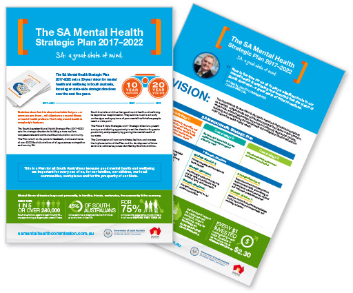The Plan Snapshot: SA Mental Health Strategic Plan 2017–2022