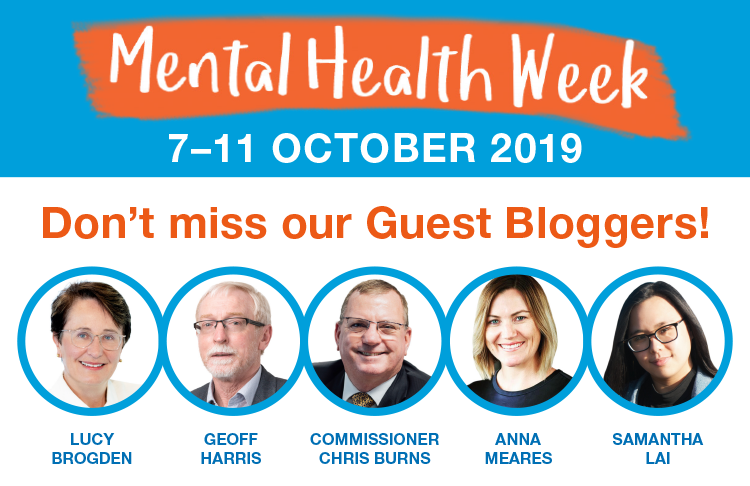 2019 Mental Health Week Special Guest Bloggers