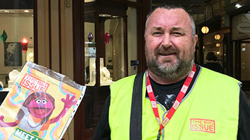 Mark – Big Issue Seller