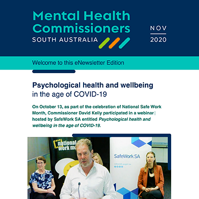 Psychological Health and Wellbeing in the Age of COVID-19: eNews November 2020
