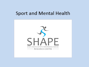 Professor Murray Drummond: Sport and Mental Health – SHAPE Research Centre Flinders University