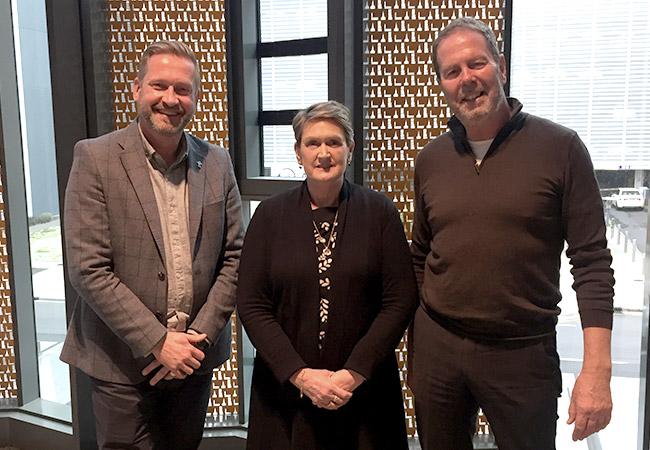 Mental Health Commissioners – South Australia (l-r): John Mannion, Heather Nowak and David Kelly