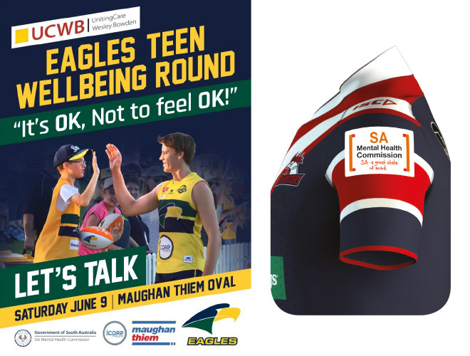 Eagles Teen Wellbeing Round – It's OK, Not to feel OK! Let's Talk.