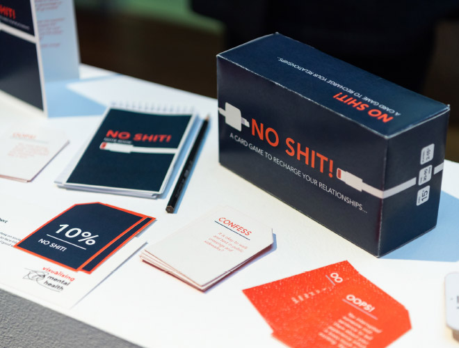 No Shit! is a card game