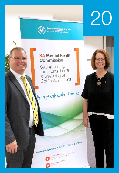 Influencing the state and federal agenda on mental health and wellbeing