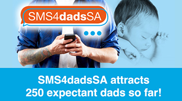 SMS4dadsSA attracts 250 expectant dads so far!