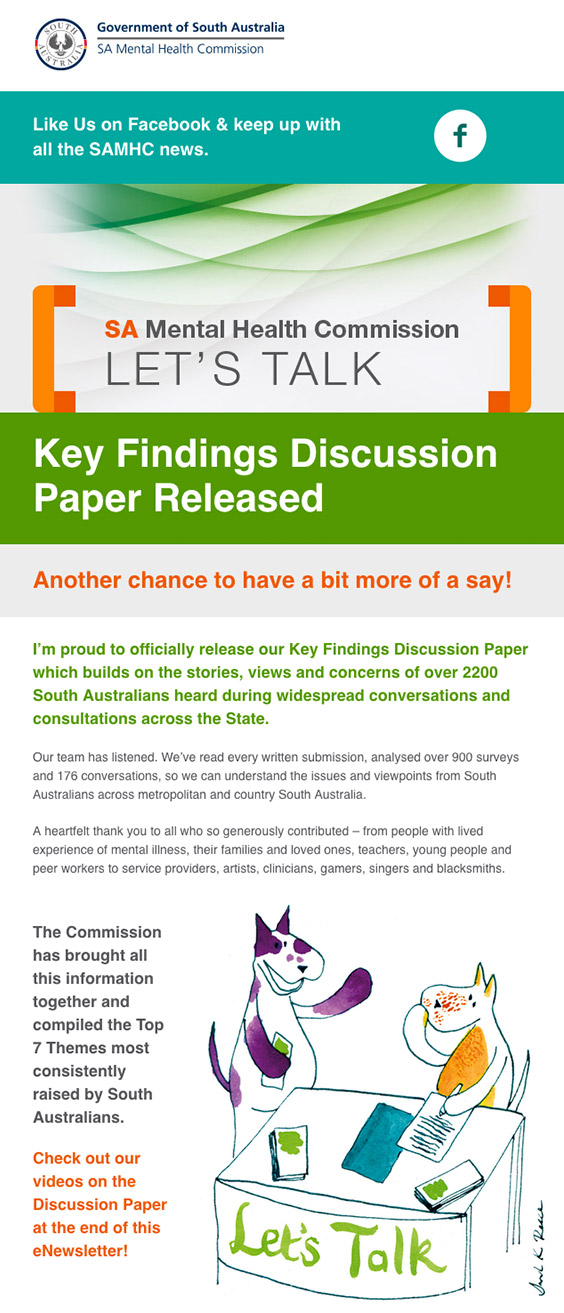 Key Findings Discussion Paper Released eNewsletter July 2017
